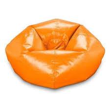 orange bean bag chairs chairs the home depot