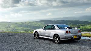 gtr nissan wallpaper wallpaper nissan skyline gt r silver side view hd picture image