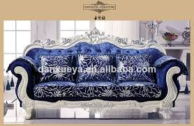 Velvet Sofa For Sale by Luxury Living Room Furniture Royal Elegant Blue Velvet Sofa Set
