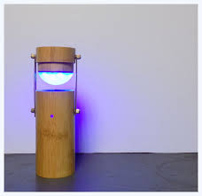 Bamboo Desk Lamp Little Portable Desk Lamp 9 Steps With Pictures