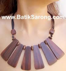 wood jewelry necklace images Wooden necklaces made in indonesia jpg