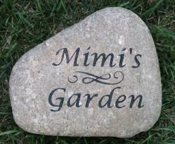 engraved stones personalized garden engraved river garden great