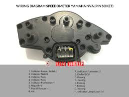 wiring diagram speedometer new vixion advance garasi modifikasi