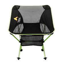 Ultralight Backpacking Chair Lectica Camping Chair Green Folding And Compact Take Comfort