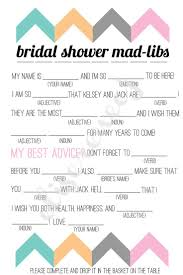kitchen tea game ideas bridal shower mad libs printable free bachelorette party mad