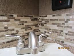 Interior  Bathroom Peel And Stick Backsplash Bathroom Modern - Peel and stick vinyl backsplash