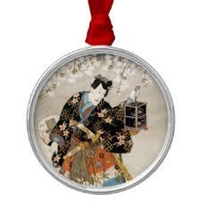 japanese paintings ornaments keepsake ornaments zazzle