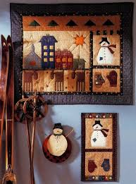 folk yuletide quilted wall hanging pattern howstuffworks