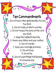 coloring pages ten commandments poster kathy hutto all about