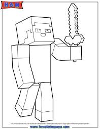 coloring pages breathtaking steve coloring pages minecraft steve