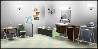 sims 3 bathroom ideas mid century modern bathroom vanity ideas design of mid century