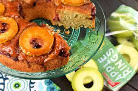 apple cranberry upside down bundt cake crunch pak