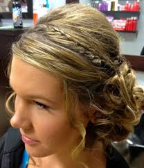 simple prom hairstyles for medium hair easy prom wedding updo
