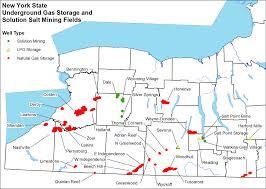 New York Area Code Map by Underground Gas Storage Summary Nys Dept Of Environmental