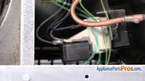 refrigerator relay u0026 overload part wp12555902 how to replace