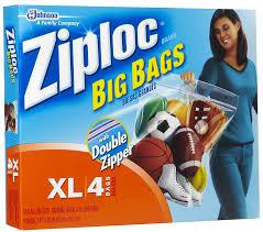 amazon com ziploc xl hd big bag 4 bags health u0026 personal care