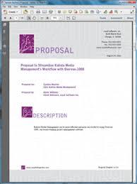 simple sales proposal template business proposal templates office csr pinterest business