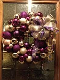 mini lsu christmas tree decor must do this lsu pinterest