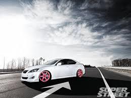 pink lexus supercharged lexus is 350 on custom pink volk te37 wheels lexus