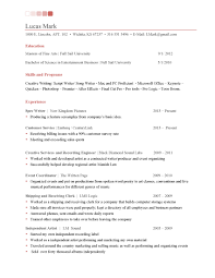 lowes resume sample resume tips creative writing lucas mark one page entry level
