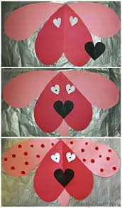 20 valentines day crafts for children lemons and laughs