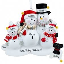 expecting couple and 2 kids ornaments u0026 gifts personalized