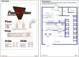 plan restaurant sample free