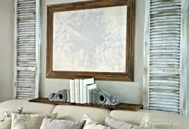 LowBudget Ways To Decorate Your Living Room Walls Hometalk - Decorate your living room