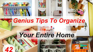 Home Genius by 42 Genius Tips To Organize Your Entire Home Youtube