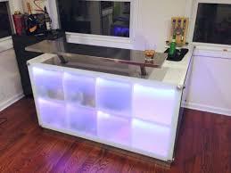 comptoir bar ikea diy créer un bar avec des meubles ikea création meuble