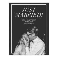 wedding announcement wedding announcement postcards zazzle