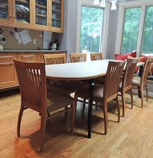 loewenstein dining table and chairs ebth