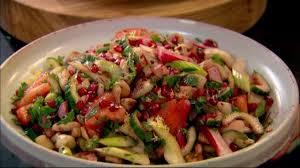 cuisiner haricots blancs salade de haricots blancs façon gordon ramsay gordon ramsay les