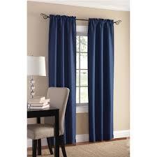 Alexander Curtains Enchanting Dark Room Curtains 124 Dark Blue Living Room Curtains