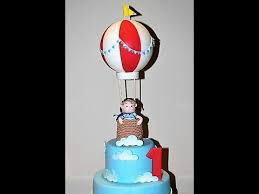 air cake topper cake decorating tutorials how to make an air balloon cake topper