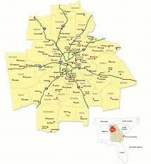 map of atlanta metro area metro atlanta regional map