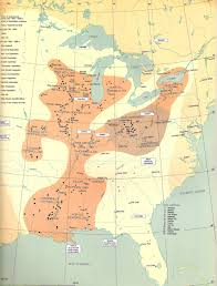 Michigan Indian Tribes Map by Geoff Mangum U0027s Guide To American Indian History