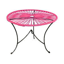 Pink Accent Table Acapulco Tables Archives Acapulco Chairs