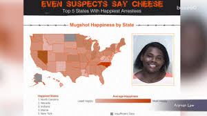 Happiest States 2016 State Found With The Happiest Mugshots Aol News
