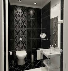 black and white tile bathroom ideas best 25 toilet tiles design ideas on small toilet