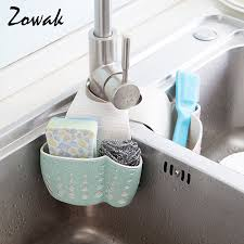 Kitchen Sink Soap And Sponge Holder by Aliexpress Com Buy Hanging Sponge Holder Kitchen Sink Caddy Soap