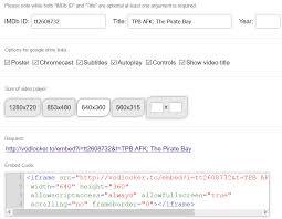 Seeking Vodlocker Now Anyone Can Embed A Pirate In A Website Torrentfreak