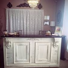 Shabby Chic Reception Desk Interior Decorations Retail Store Shabby Chic Display