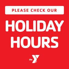 december hours ymca of tx