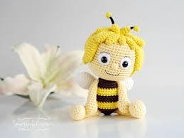 smartapple creations amigurumi crochet maya bee