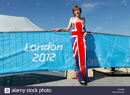 Flag Dress Teenager Mirabelle Knowles Sports A Union Jack British Flag Dress