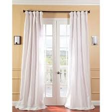 lace and curtains the best window treatment for french doors