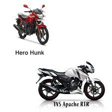 tvs motocross bikes tvs apache rtr vs hero hunk motorbike review motorcycle bangladesh