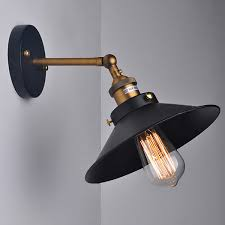 Retro Wall Sconces Antique Industrial Wall L Vintage Retro Sconces 1 Light Within