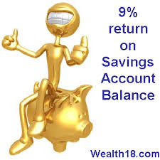 how to earn upto 9 interest on your savings account balance